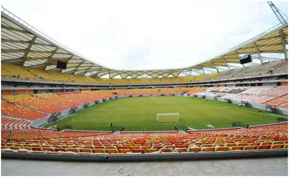 Nem dez estádios desta envergadura dariam para repor a vida que se perdeu Fonte: copamundial2014brasil.com.br