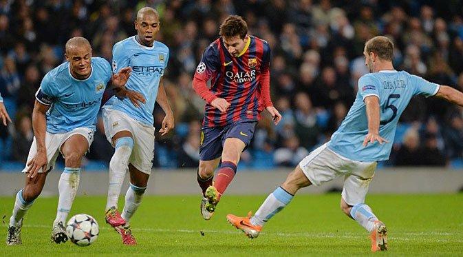 """O """"pior Barcelona em muitos anos"""" saiu vitorioso de Manchester. Fonte: Static6.com"""