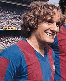 Um jogador adoradoFonte: Blaugranas.com