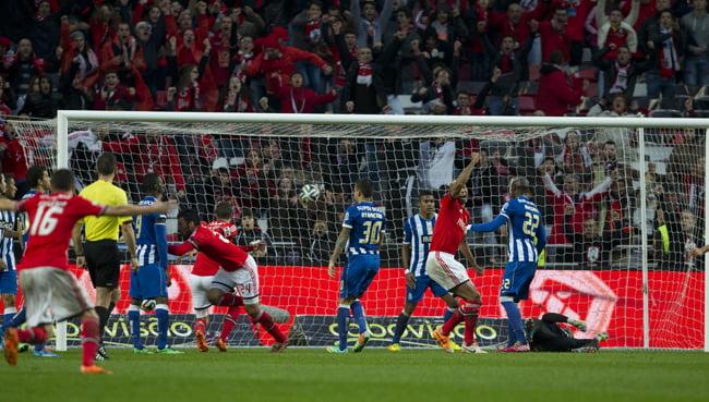 O Benfica ganhou por 2-0 o último clássico Fonte: Liga Portugal (Hernani Pereira)
