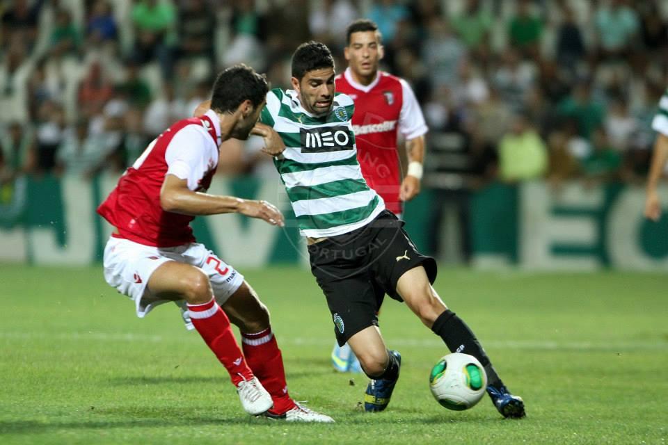 Magrão não se conseguiu impor no miolo Fonte: Sporting.pt