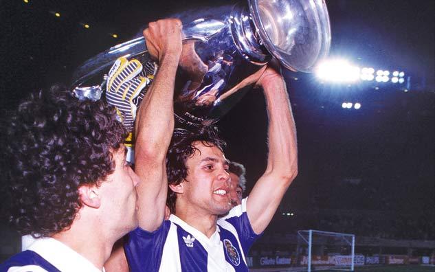 Madjer foi, como sempre, um dos heróis do FC Porto Fonte: FC Porto
