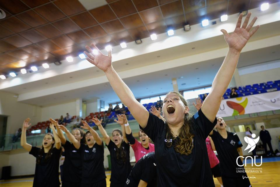 Sara Fatia (AACoimbra) esteve em destaque durante a final, ajudando a sua equipa a vencer a congénere de Évora