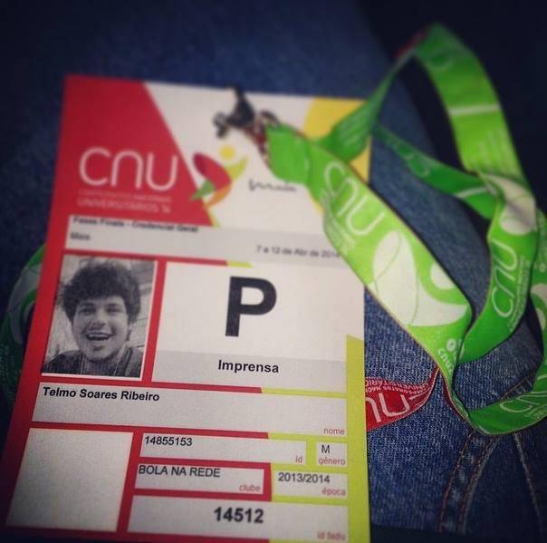 O Bola na Rede esteve presente nos CNU's 2014, na Maia