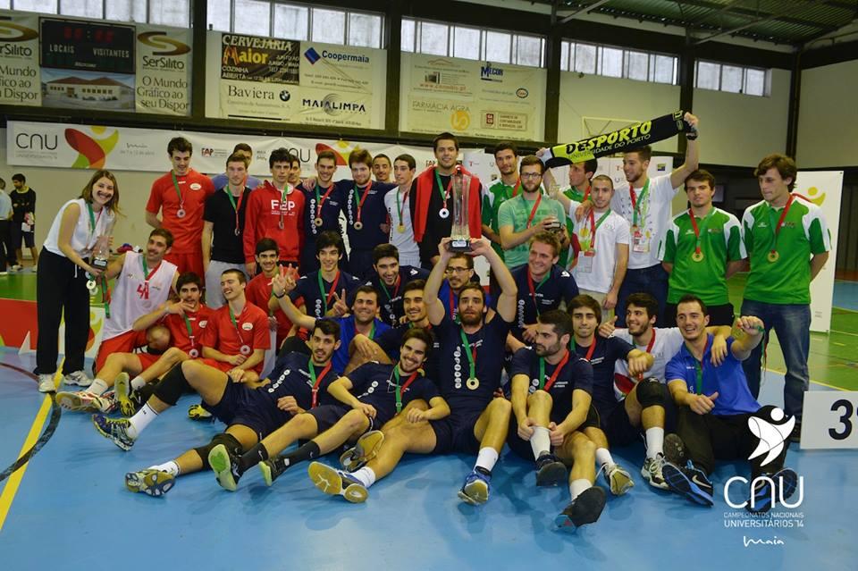 Com a vitória diante da AEFEP, o IPPorto renovou o título no Voleibol Masculino