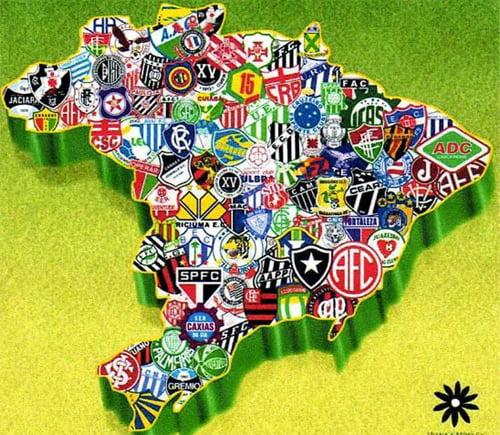 Apontando um dedo neste mapa para um emblema, talvez se descubra o próximo vencedor  Fonte: blogdocazumba.com.br
