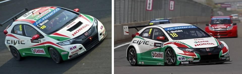 As diferenças entre os carros de 2013 e 2014 vistas no carro de Tiago Monteiro. Fonte: