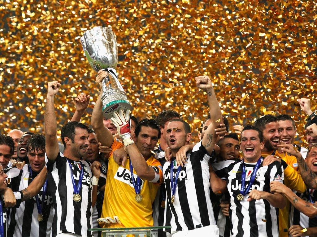A Juventus futebol italiano Fonte: The Independent