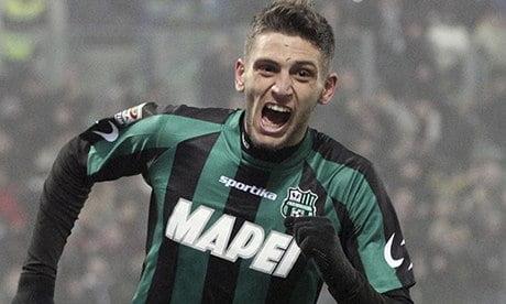 Domenico Berardi foi a grande revelação da prova com 16 golos marcados Fonte: The Guardian