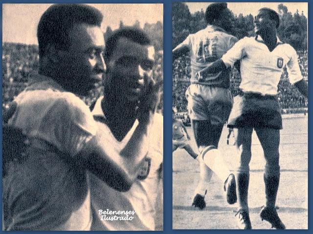Com Pelé Fonte: Belenensesilustrado