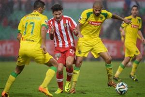 O Paços garantiu um lugar na Primeira Liga do próximo ano Fonte: Diário de Notícias