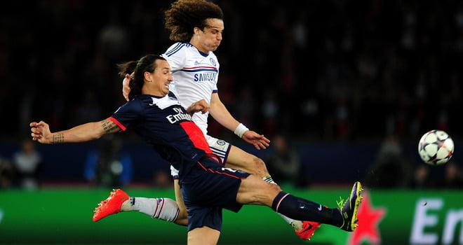 Depois de defrontar o PSG na Liga dos Campeões, David Luiz muda-se para Paris  Fonte: Sky Sports