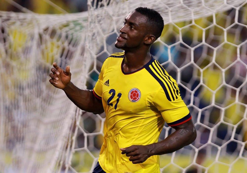 Jackson deverá fazer par com Falcao na frente do ataque colombiano  colombia.com