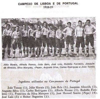 Apesar de se disputar em eliminatórias, o campeonato de Portugal apurava o campeão nacional. As 17 épocas em que se disputou foram estranhamente apagadas dos registos oficiais, negando-se a posteriori vários títulos de campeão aos clubes  Fonte:   Wikipédia