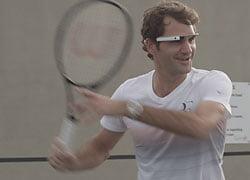 """Roger Federer a treinar com uma """"arma secreta"""" Fonte: Atpworldtour.com"""