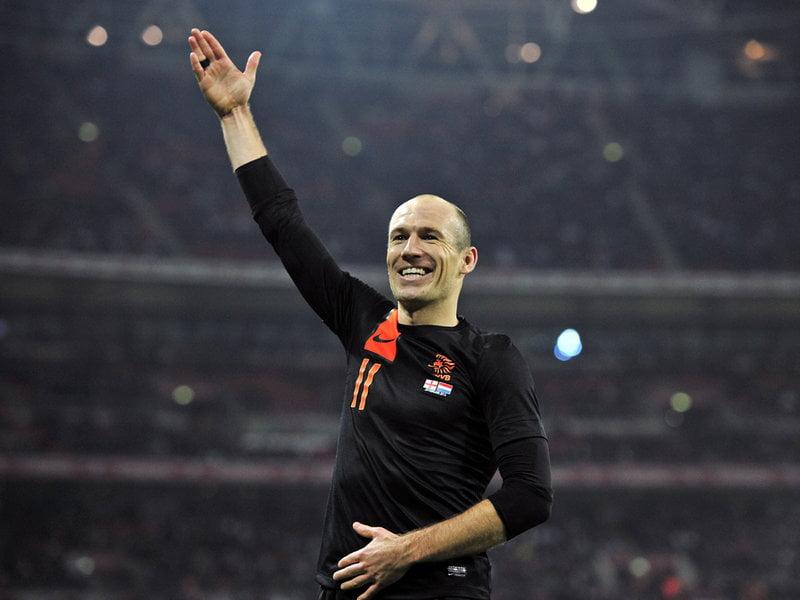 Arjen Robben, autêntico craque Fonte: gazetaesportiva.net