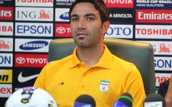 Javad Nekounam Fonte: Footballerpics.com