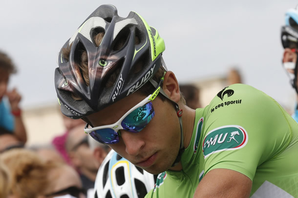 Peter Sagan teve um Tour agridoce Fonte: cyclingperspective.com