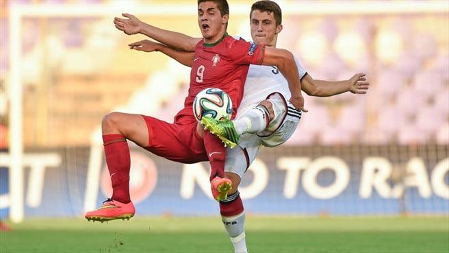 André Silva foi um dos jogadores em destaque neste Euro Sub-19  Fonte: UEFA