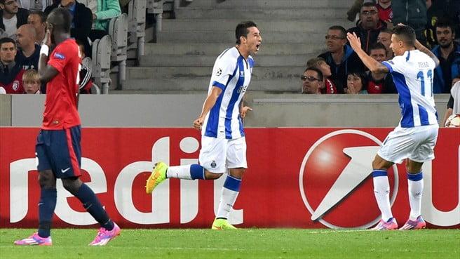 Herrera marcou o único golo da partida  Fonte: UEFA