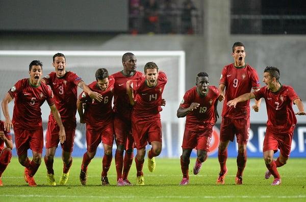 Portugal chegou à final do Euro Sub-19 com cinco portistas no onze base  Fonte: FPF
