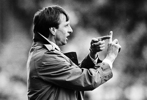 Johan Cruyff, ao serviço do Barcelona  Fonte: jotdown.es