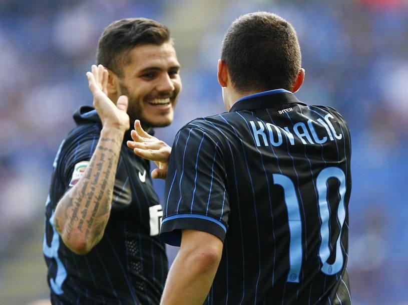 Kovacic e Icardi, ambos do Inter, são dois dos jovens mais talentosos e promissores da Serie A  Fonte: gazzetta.it
