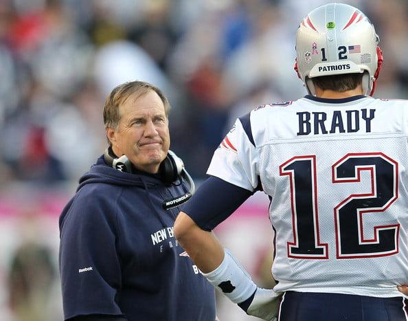 Tom Brady e Bill Belichick vão tentar conquistar a divisão pelo sexto ano consecutivo  Fonte: zimbio.com