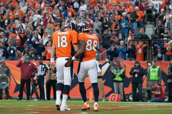 Os Broncos de Manning partem como favoritos para chegar ao Super Bowl de novo, depois do desaire do ano passado  Fonte: zimbio.com