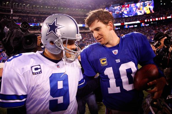NFC East, a única divisão sem um claro favorito, será desta que os Cowboys chegam aos playoffs?  Fonte: thacover2.com