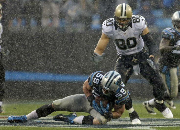 Os Saints de Brees e Graham são os grandes favoritos na NFC South, mas cuidado com o ataque dos Falcons e com a defesa dos Panthers!  Fonte: pinterest.com