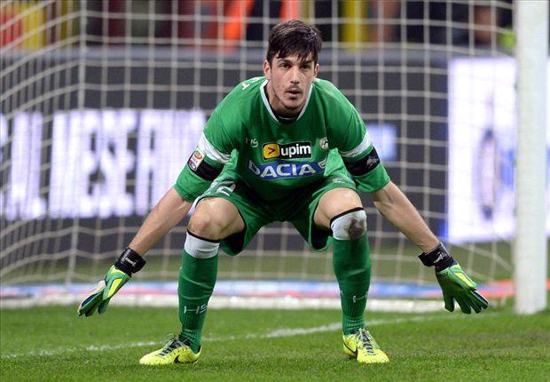 Scuffet, colega de equipa de Bruno Fernandes na Udinese  Fonte: Kingsley Coman