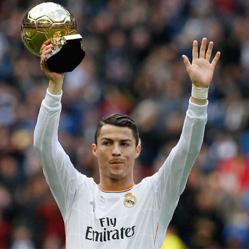 Ronaldo conquistou a Bola de Ouro antes de vencer a Champions>/i>  Fonte: dnaindia.com