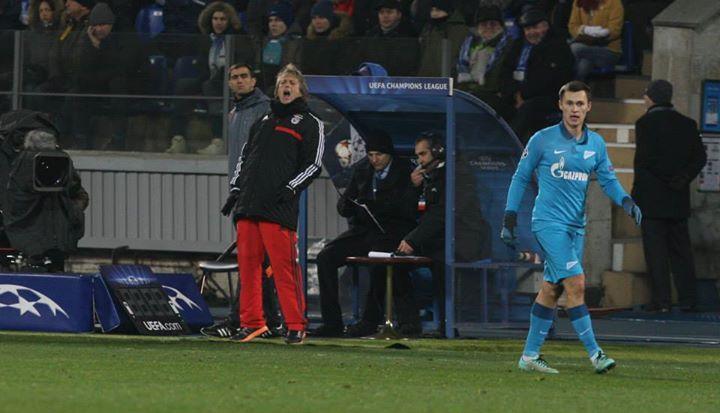 Jorge Jesus em destaque na última partida dos encarnados Fonte: Facebook do Sport Lisboa e Benfica
