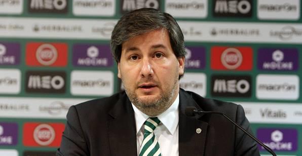 Bruno de Carvalho vai completar dois anos à frente do Sporting CP Fonte: Sporting Clube de Portugal