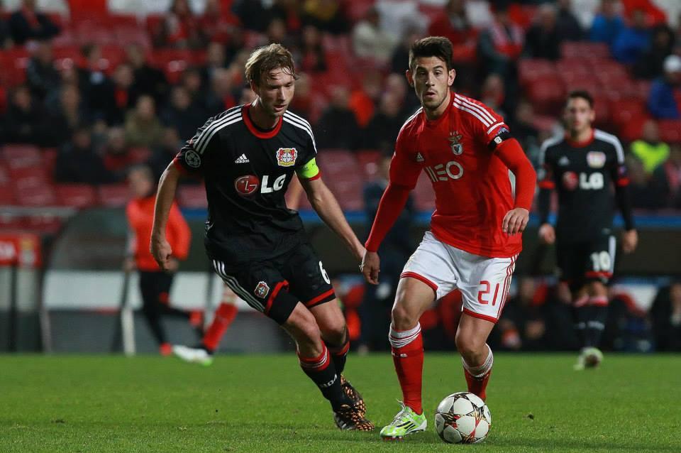 Pizzi foi um dos destaques da partida Fonte: Facebook SL Benfica