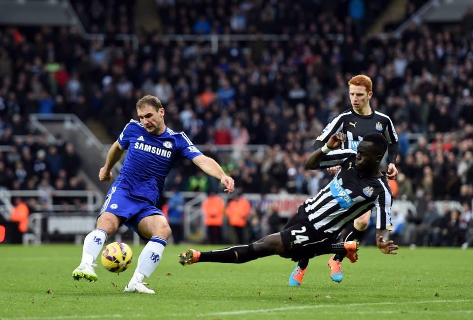 O sonho da invencibilidade foi travado pelo Newcastle Fonte: Facebook do Chelsea