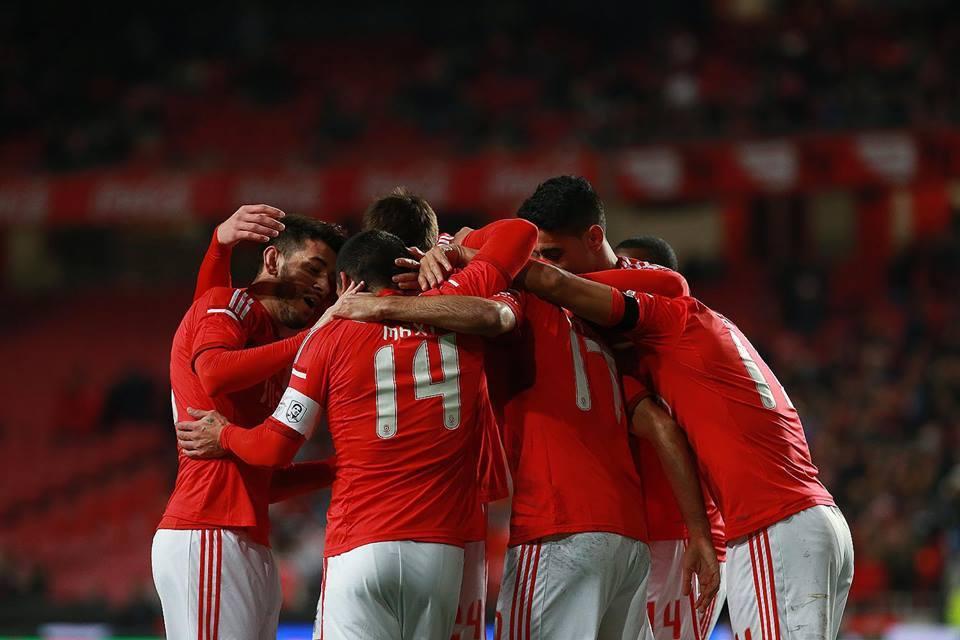 O Benfica entrou a vencer na Taça da Liga Fonte: Facebook do Sport Lisboa e Benfica