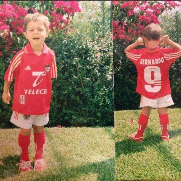 Bernardo Silva, mais um talento da formação ignorado pelo Benfica... Fonte: Facebook de Bernardo Silva