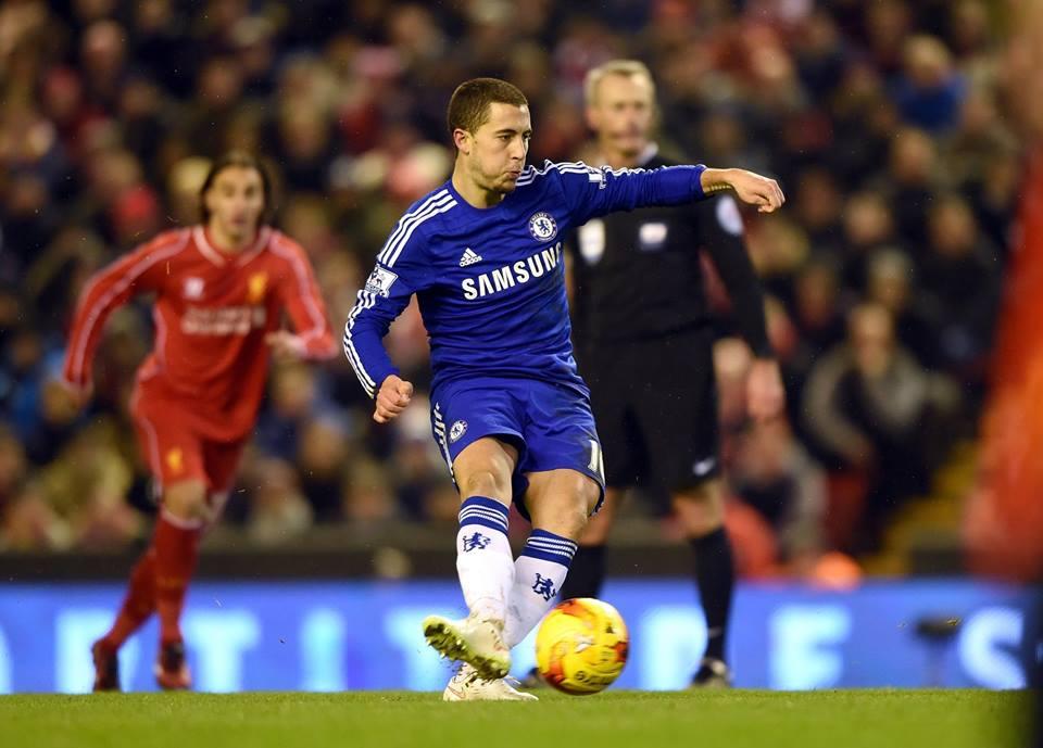 Hazard é um dos craques do Chelsea Fonte: Facebook do Chelsea