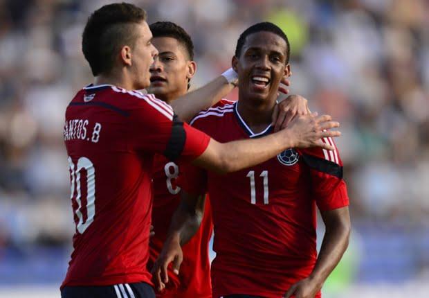 Lucumí foi a grande estrela colombiana Fonte: goal.com
