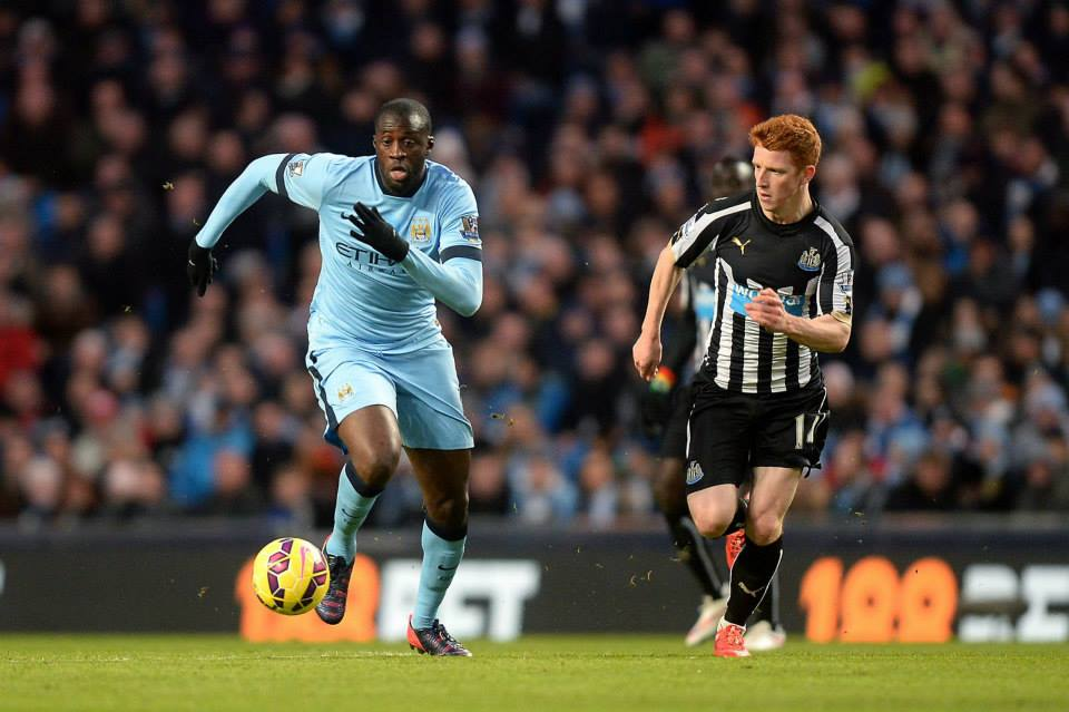 Com Yaya, a equipa parece outra Fonte: Facebook do Man City
