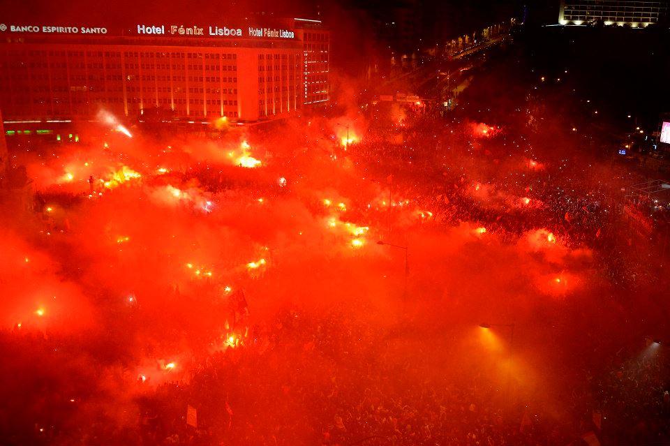 Faltam 11 finais para isto se repetir Fonte: Facebook Oficial do Benfica/ Francisco Rocha
