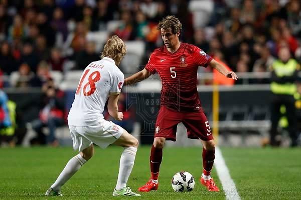 Fábio Coentrão foi decisivo Fonte: Federação Portuguesa de Futebol
