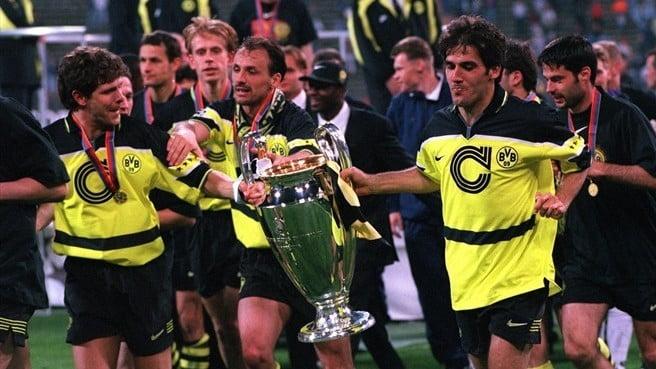 Imagens da festa do único título europeu do Borussia até hoje Fonte: UEFA