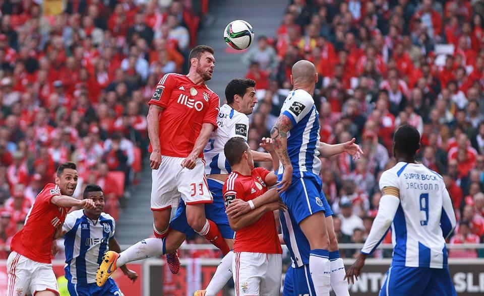 Jardel fez uma exibição fantástica no clássico Fonte: Sport Lisboa e Benfica