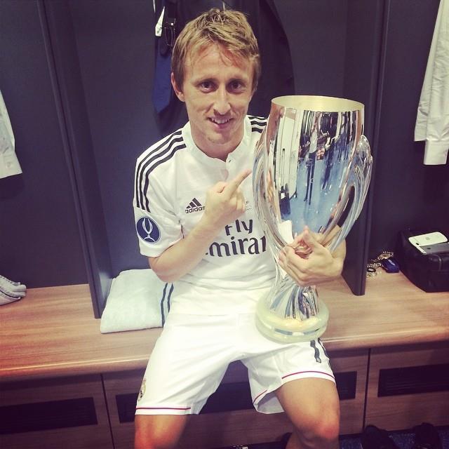 Modric tem sido fundamental nos títulos conquistados Fonte: Facebook de Luka Modric