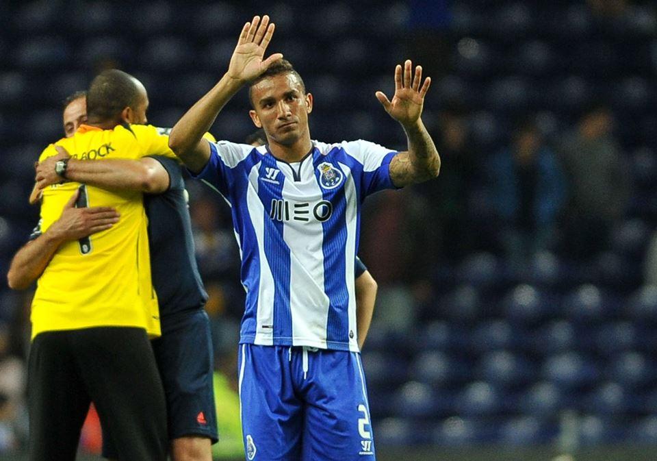 Este foi o jogo de despedida de Danilo(e provavelmente de Helton) Fonte: Facebook do FC Porto