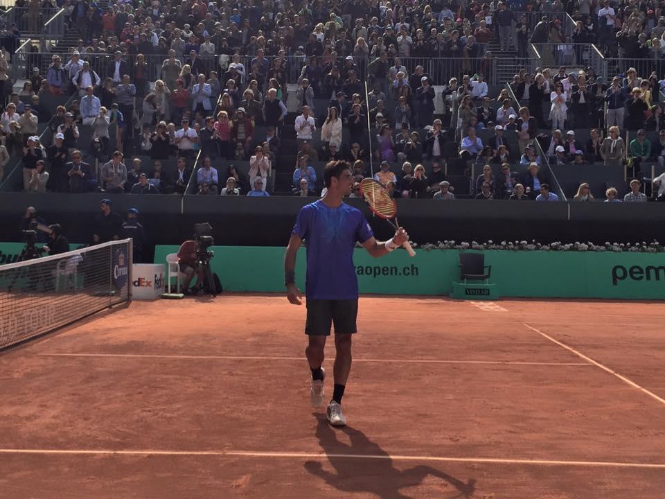 O brasileiro venceu o seu terceiro titulo ATP em solo suíço Fonte: Facebook Oficial do Geneva Open