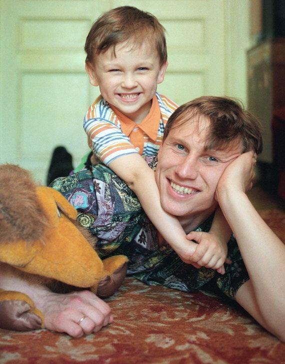O clã Cheryshev – Dmitri e Denis Fonte: Página do Sovsport.ru